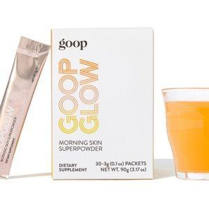 goop glow morning skin super powder x4
